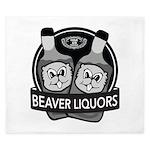 Beaver Liquors King Duvet