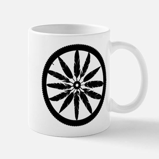 Feather Spokes Mugs