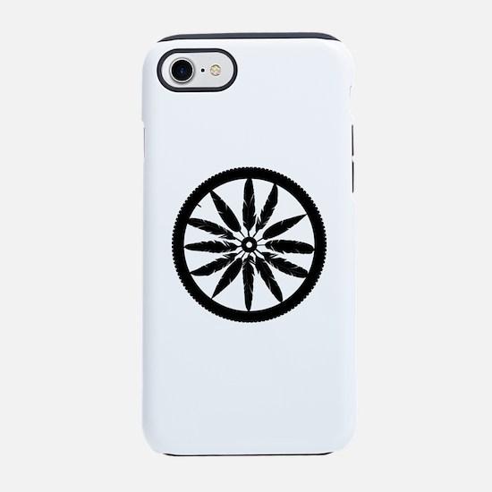 Feather Spokes iPhone 7 Tough Case