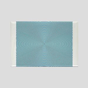 Teal Spiral Magnets