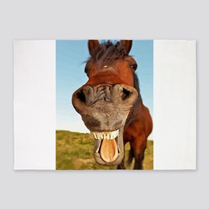 Funny Horse 5'x7'Area Rug