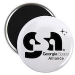 Georgia Space Alliance logo Magnets