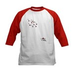 I Love U 2 Much! Kids Baseball Jersey