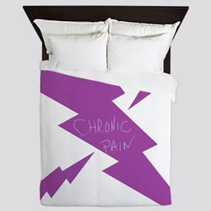 Chronic Pain Lightening Queen Duvet