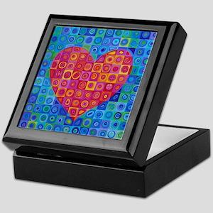 Red Heart Keepsake Box
