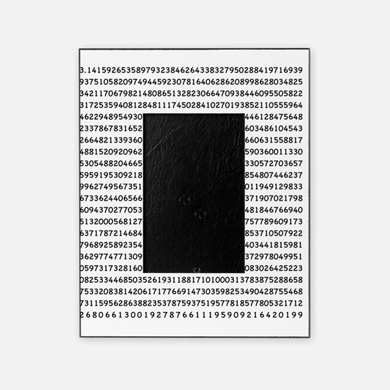 Pi to 1000 Digits Picture Frame