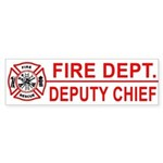 Fire Department Deputy Chief Bumper Sticker