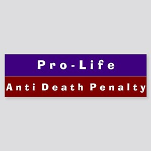Anti-Death Penalty Bumper Sticker