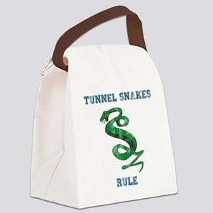 Tunnel Snakes Rule! Canvas Lunch Bag