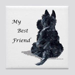 Scottish Terrier AKC Tile Coaster