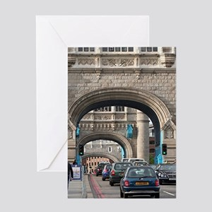 Tower Bridge, London, England Greeting Cards