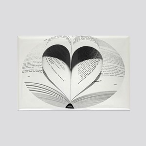 Cute Love of Books Rectangle Magnet