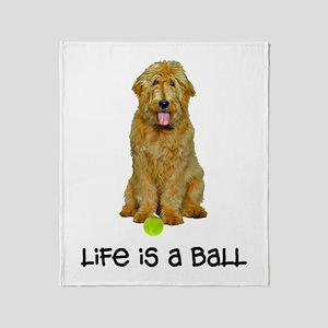 Goldendoodle Life Throw Blanket