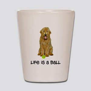 Goldendoodle Life Shot Glass