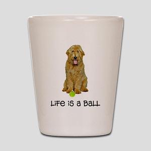 Goldendoodle Life Shot Glass