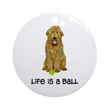 Goldendoodle Life Ornament (Round)