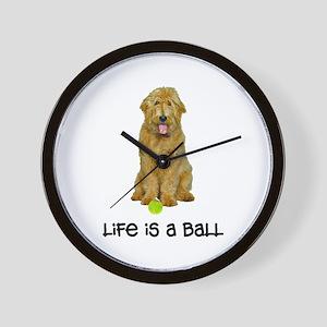 Goldendoodle Life Wall Clock