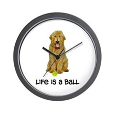 Goldendoodle Life Wall Clock