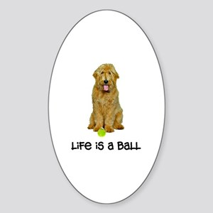 Goldendoodle Life Sticker (Oval)
