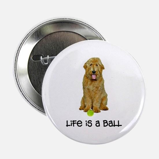 "Goldendoodle Life 2.25"" Button"