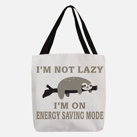 Sloth | I'm Not Lazy I'm On Ene Polyester Tote Bag
