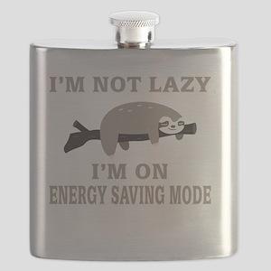 Sloth | I'm Not Lazy I'm On Energy Saving Mo Flask
