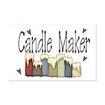 Candle Maker Mini Poster Print
