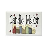 Candle Maker Rectangle Magnet (10 pack)