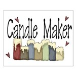 Candle Maker Small Poster