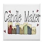 Candle Maker Tile Coaster