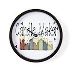 Candle Maker Wall Clock