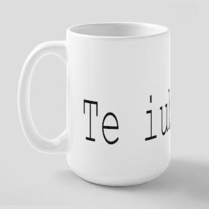 """"""" I love you"""" Large Mug"""
