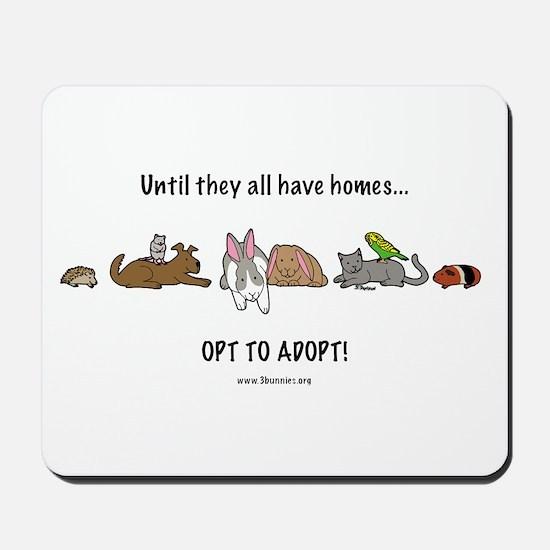 Mousepad opt to adopt
