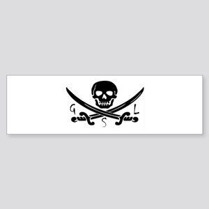 GSL Pirate Bumper Sticker
