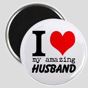I heart my Amazing Husband Magnet