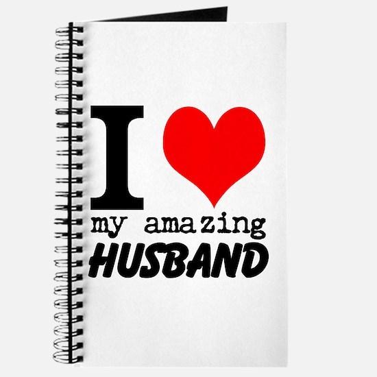I heart my Amazing Husband Journal