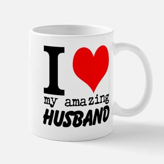I heart my Amazing Husband Mug