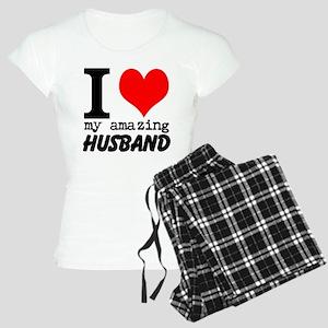 I heart my Amazing Husband Women's Light Pajamas
