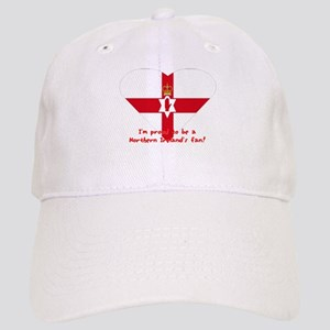 Red hand of Ulster pride flag Cap