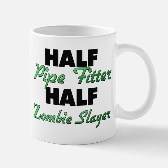Half Pipe Fitter Half Zombie Slayer Mugs