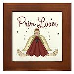 Prim Lover Framed Tile