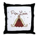 Prim Lover Throw Pillow