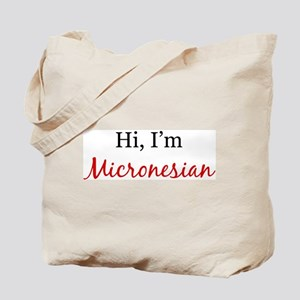 I am Micronesian Tote Bag
