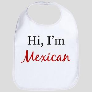 I am Mexican Bib