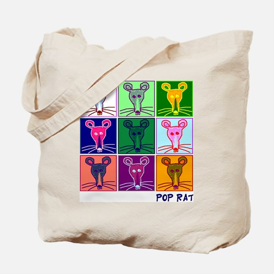 Pop Rat Tote Bag