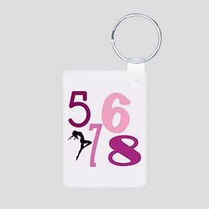 5,6,7,8 Keychains