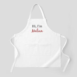 I am Malian BBQ Apron