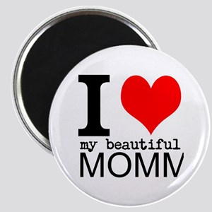 I Heart My Beautiful Mommy Magnet