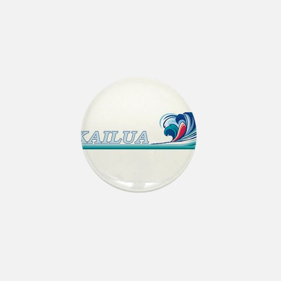 Cute Kailua Mini Button