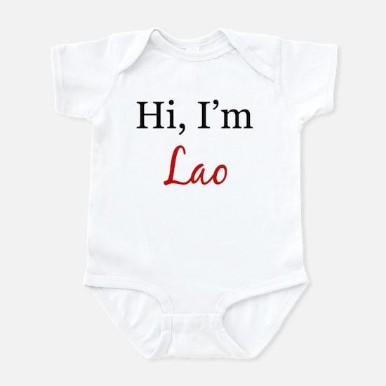 Hi, I am Lao Infant Bodysuit